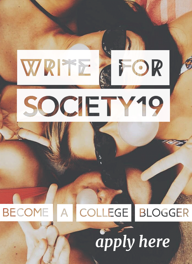 Become a college blogger for SOCIETY19!